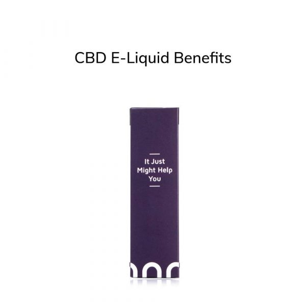 CBD E-Liquid Benefits