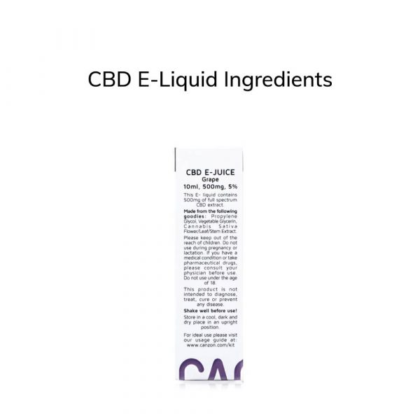 CBD E-Liquid Ingredients