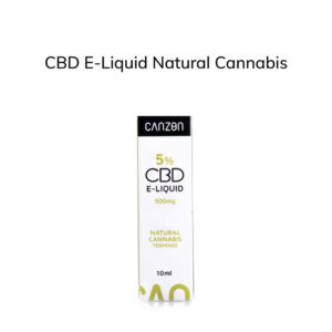 CBD E-Liquid Natural Cannabis