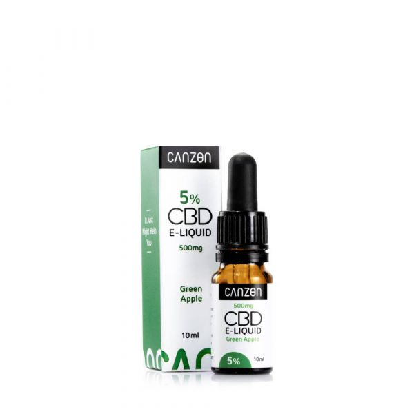 Green Apple CBD E-Liquid