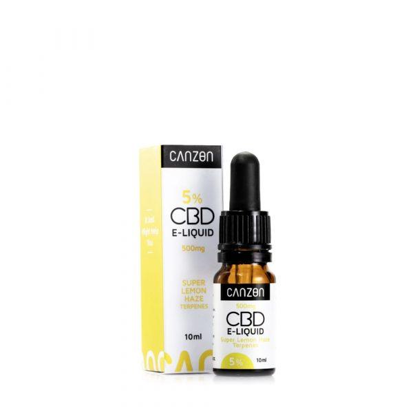 E-liquid con CBD al Super Lemon Haze
