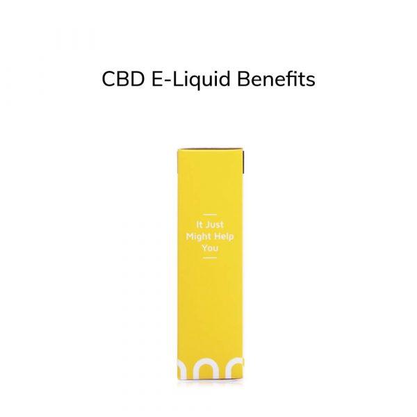 CBD E-Liquid Benefits