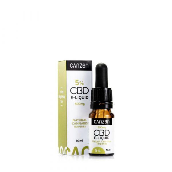 Natürliches Cannabis CBD E-Liquid