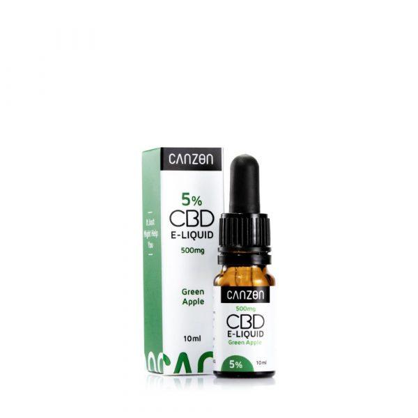 Grüner Apfel CBD E-Liquid