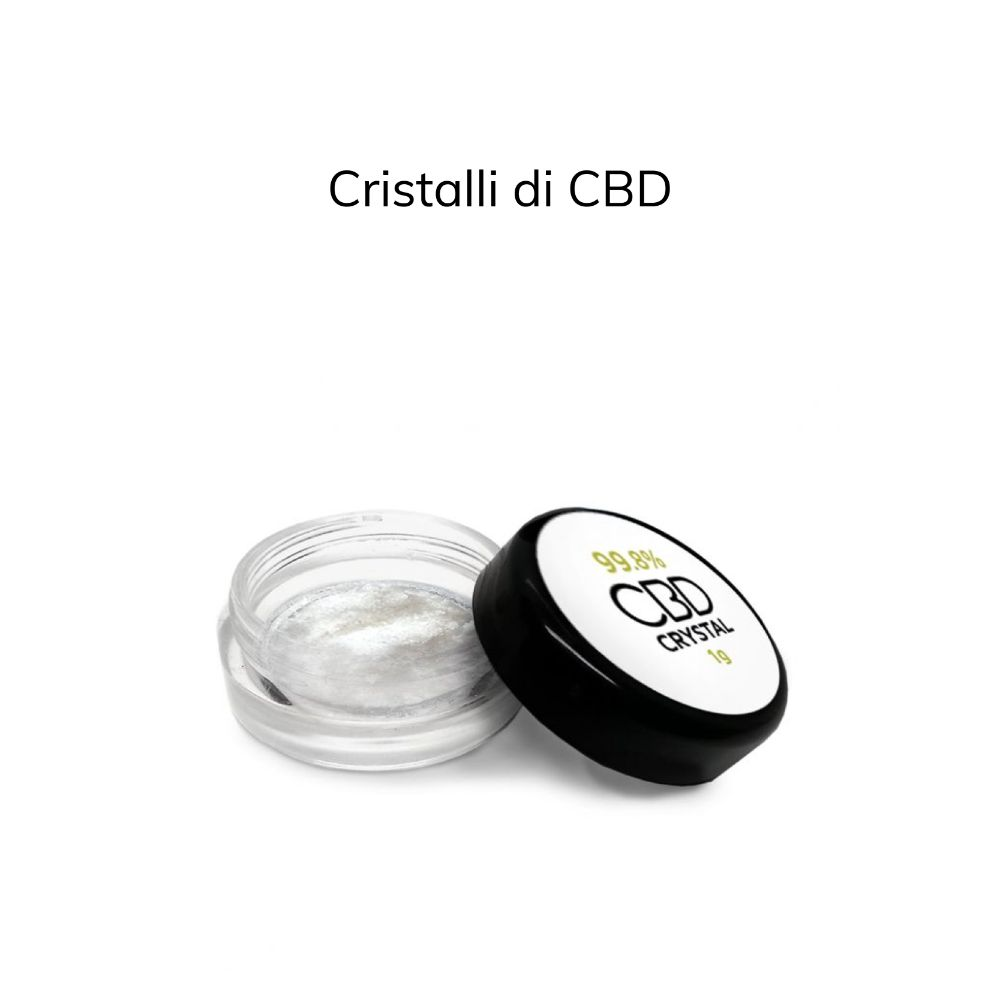 Cristalli di CBD