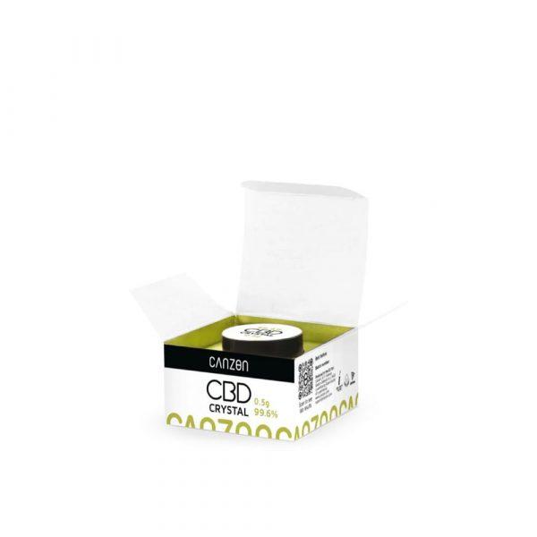 Cristales de CBD 500 mg