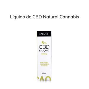Líquido de CBD Natural Cannabis