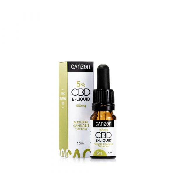 Líquido de CBD Natural Cannabis