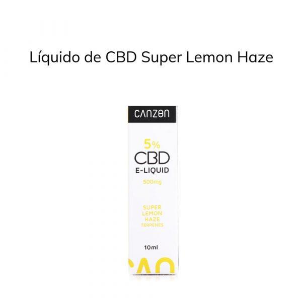 Líquido de CBD Super Lemon Haze