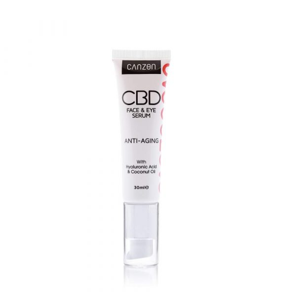 CBD Anti-Aging Face and Eye Serum