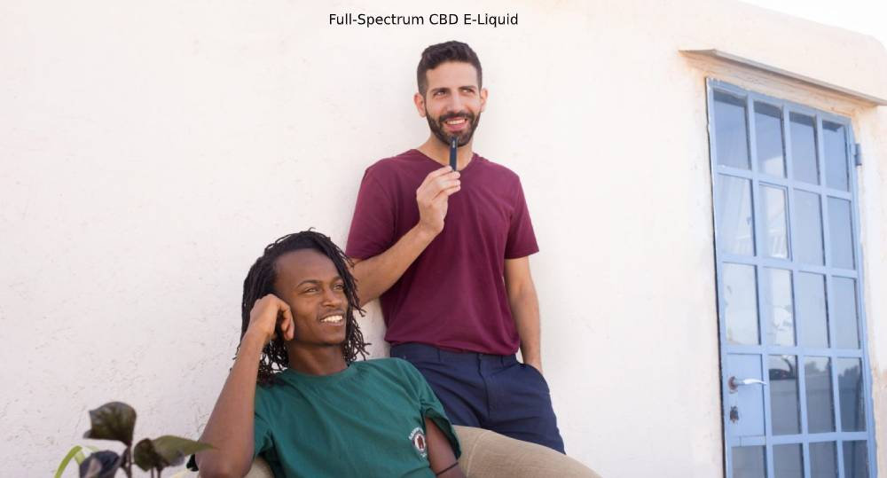 Full Spectrum CBD E-Liquid