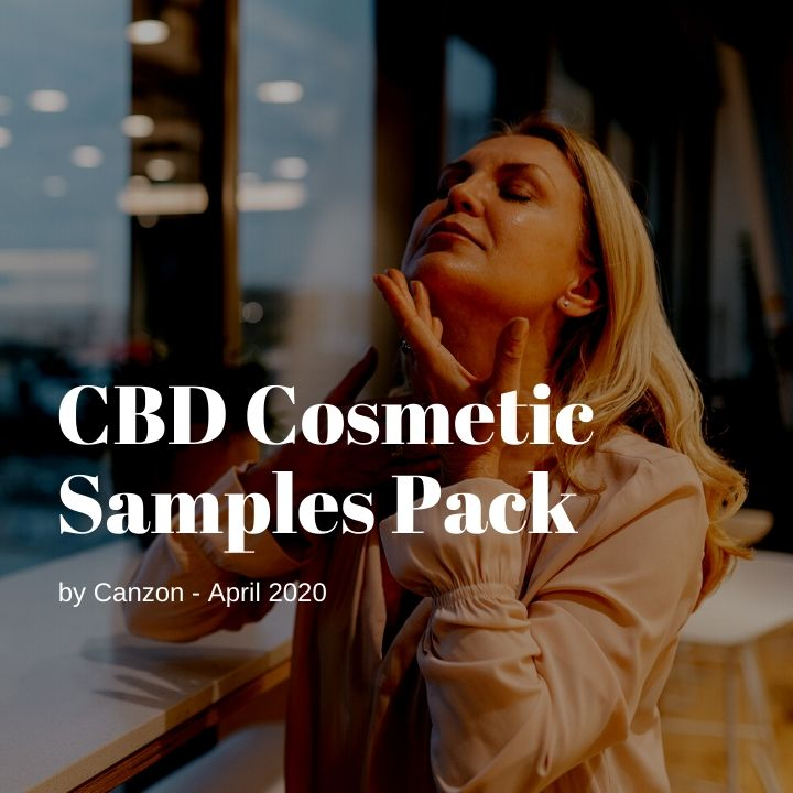 CBD Cosmetic Samples Pack