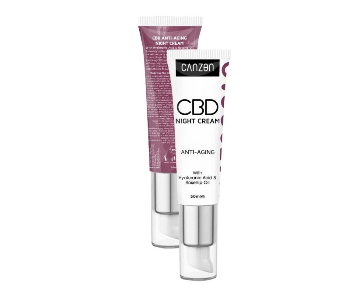discover cbd anti-aging night cream