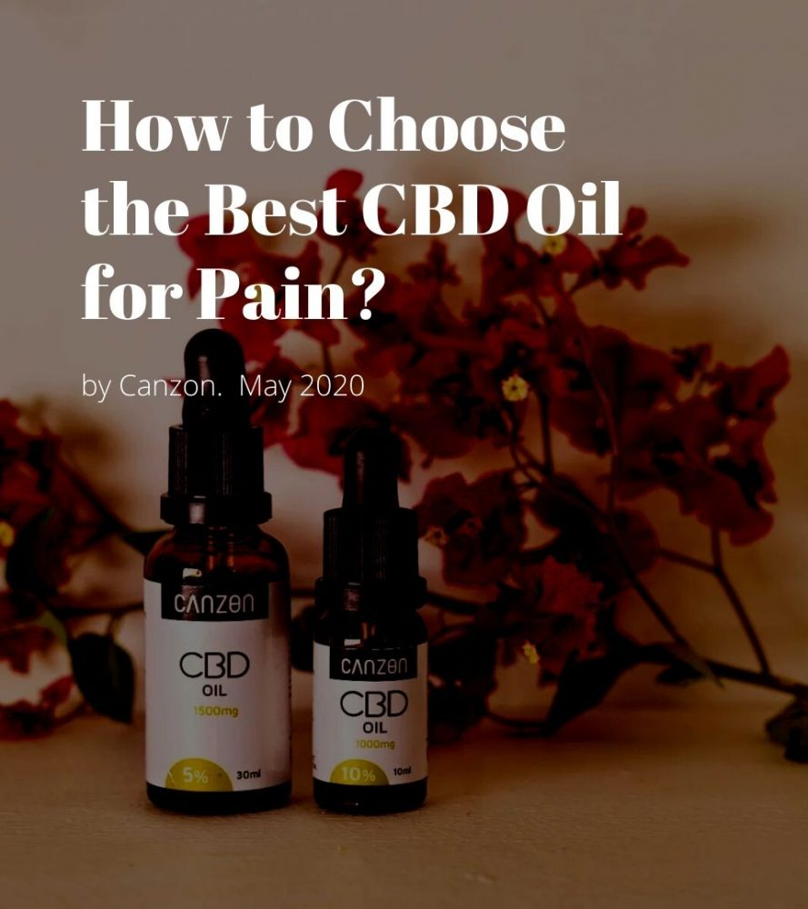 How to Choose the Best CBD Oil for Pain?