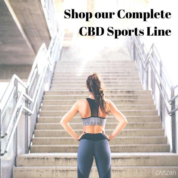 Shop our Complete CBD Sports Line
