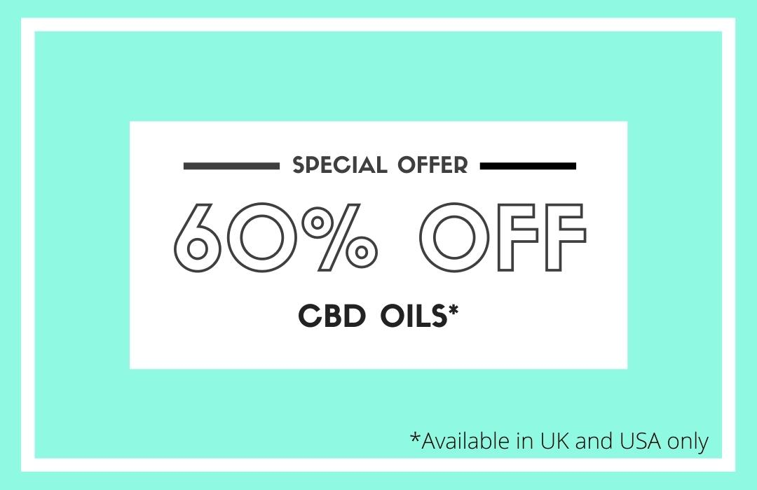 60% off CBD Oils