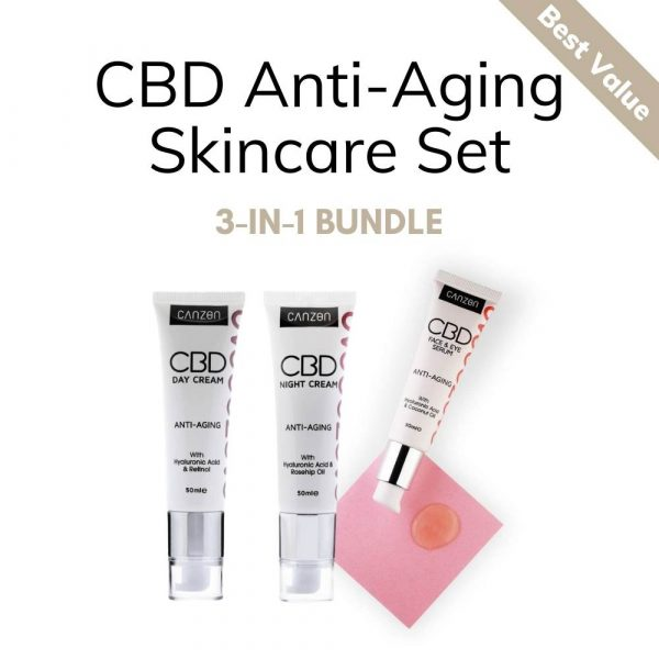 CBD Anti-Aging Skincare Set