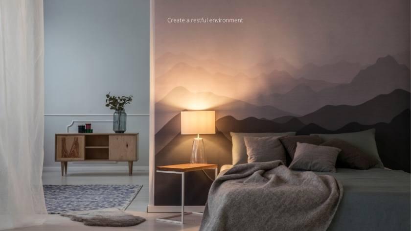 CBD and Sleep: Create a restful environment