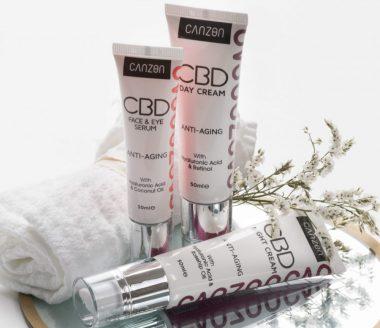 Canzon CBD Cosmetics Products